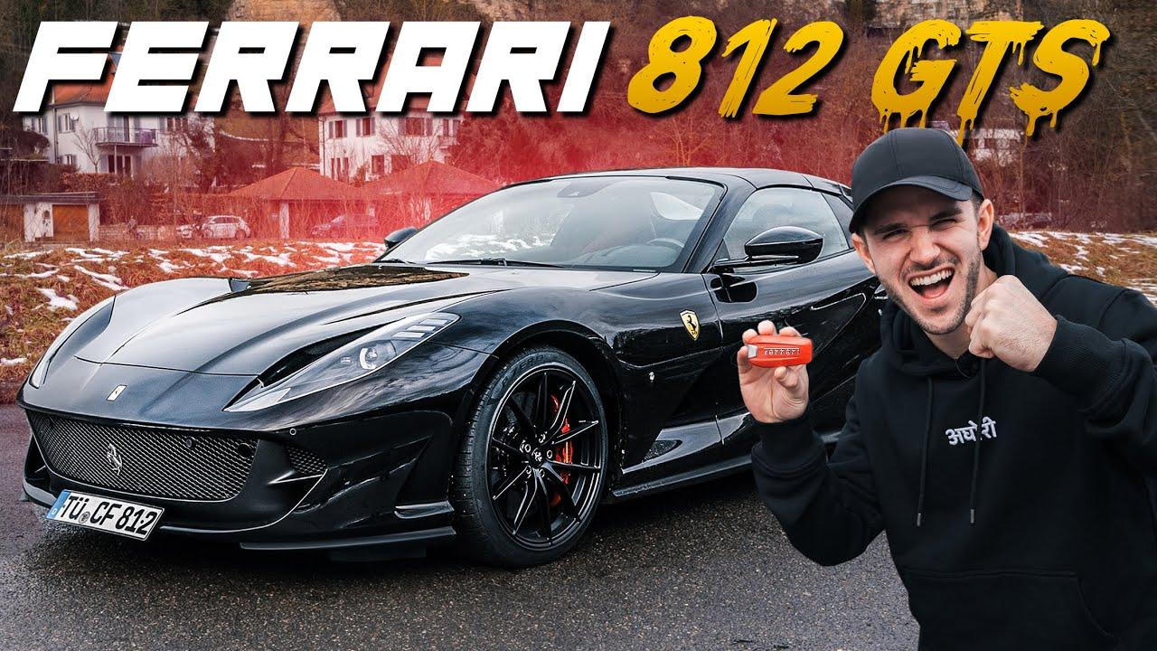 800 PS im Ferrari 812 GTS   Der V12 scheppert alles weg!!   Daniel Abt