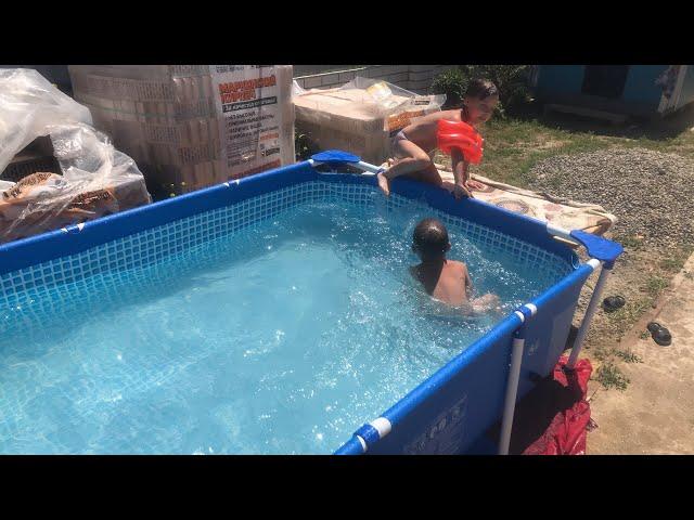 Лето///бассейн//время отдыха