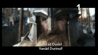 Dwarvish  Khuzdul  In The Battle Of Five Armies Movie
