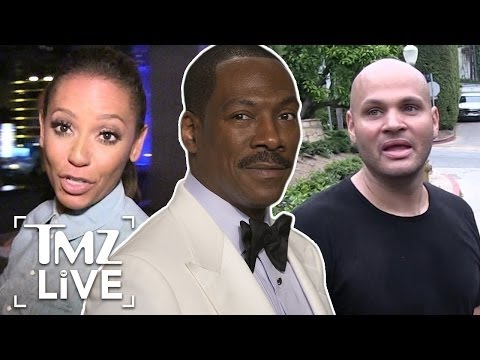 Eddie Murphy Caught In The Middle Of Mel B and Stephen Belafonte