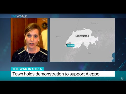 Interview with Krista Armstrong about humanitarian situation in Syria's Aleppo