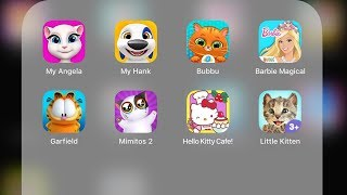 Download Video My Angela,My Hank,Litte Kitten,Hello Kitty Cafe,Barbie Magical,Bubbu,Garfield,Mimitos 2 MP3 3GP MP4