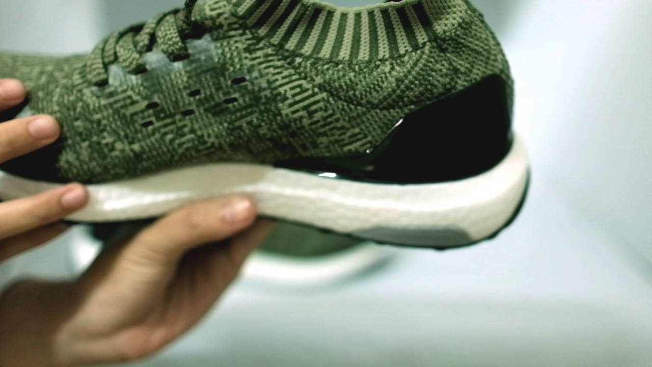 38aec31b6 Adidas Ultraboost uncaged Olive Green White. jual sneakers