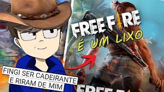 FREE FIRE É O PIOR JOGO DO MUNDO!!