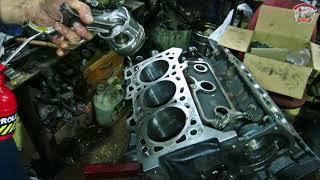 видео: Ремонт двигателя V9X Nissan / Infiniti