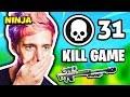 NINJA LOSES A 31 KILL GAME | Fortnite Daily Funny Moments Ep.165