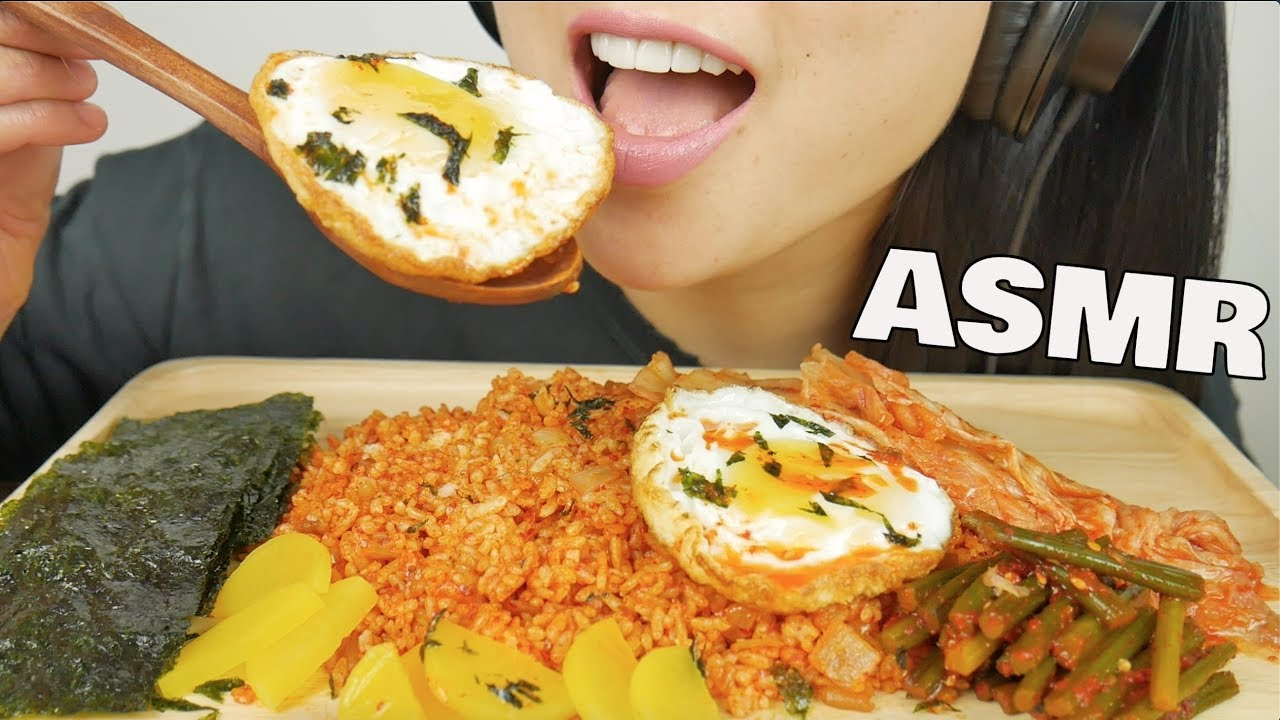 Asmr Kimchi Fried Rice Eating Sound No Talking Sas Asmr Youtube Check out this biography to know her birthday, family life, achievements and. asmr kimchi fried rice eating sound no talking sas asmr