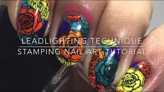Leadlighting Technique stamping nail art tutorial ~ Beautybigbang ~ Born Pretty