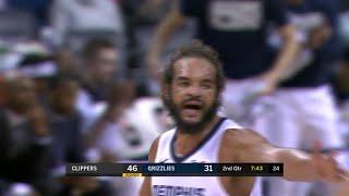 2nd Quarter, One Box Video: Memphis Grizzlies vs. LA Clippers