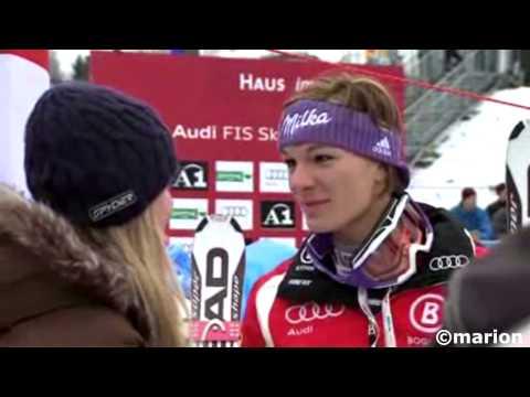 Lindsey Vonn & Maria Hoefl-Riesch - Best Friends