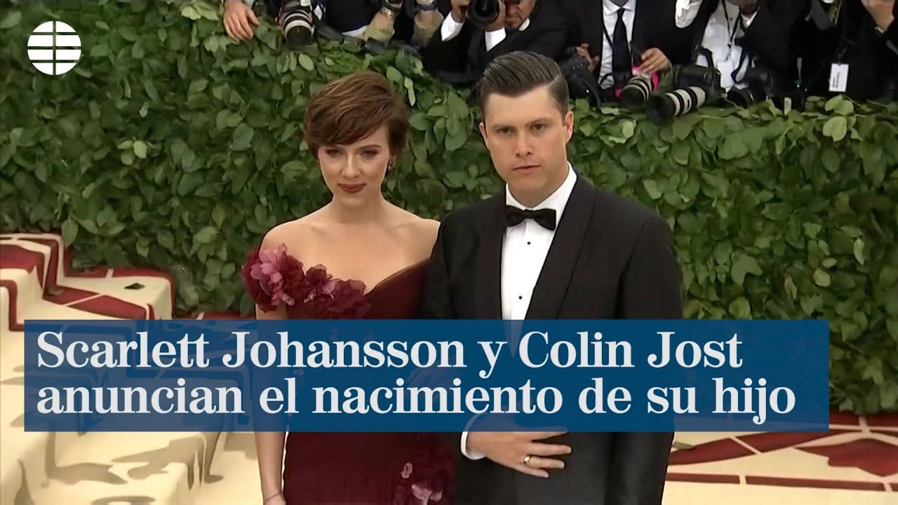 Scarlett Johansson y Colin Jost anuncian el nacimiento de su primer ...