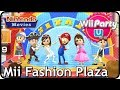 Wii Party U - Mii Fashion Plaza (4 Players) Mario/Roman/Pirate/Cave/Rock-Star outfits