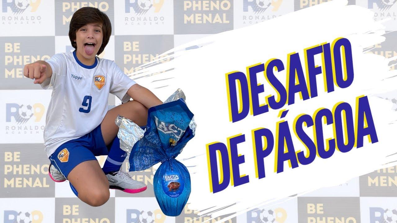 DESAFIO DE PÁSCOA DA R9, VALENDO O MAIOR OVO DE PÁSCOA DO MUNDO