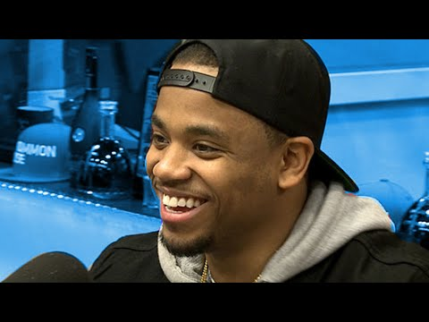 Mack Wilds at The Breakfast Club