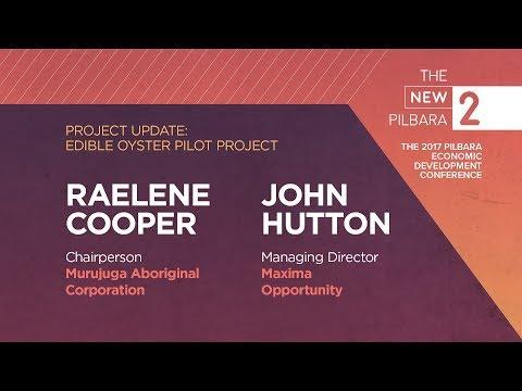 The New Pilbara - Raelene Cooper and John Hutton