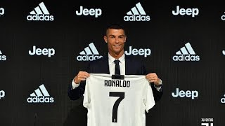 Los detalles de la presentación de Cristiano Ronaldo