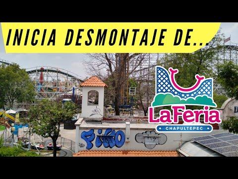 La Feria de Chapultepec inicia su desmontaje