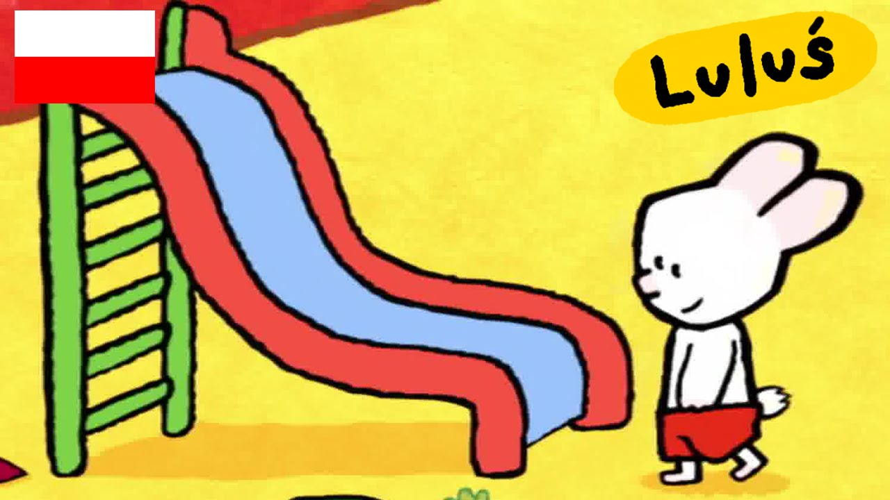 Luluś - Narysuj mi zjeżdżalnię S01E18 HD // Kreskówki dla dzieci