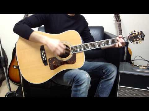 Guild ギルド D-55 ナチュラル最高級アコースティックギター D55