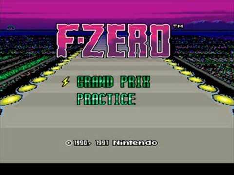 Super Nintendo - F-Zero - Mute City