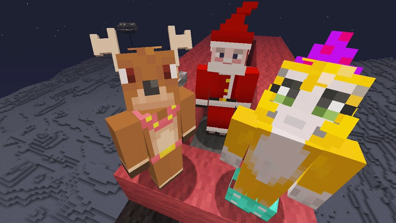 Stampylonghead Christmas.Minecraft Xbox Christmas In Space 474