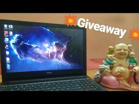 Dell Inspiron 15 3567 i7 7th gen + AMD graphic card (review + giveaway). #giveaway #laptopgiveaway