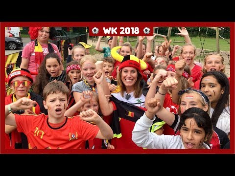 Belgische kinderen superenthousiast over Rode Duivels