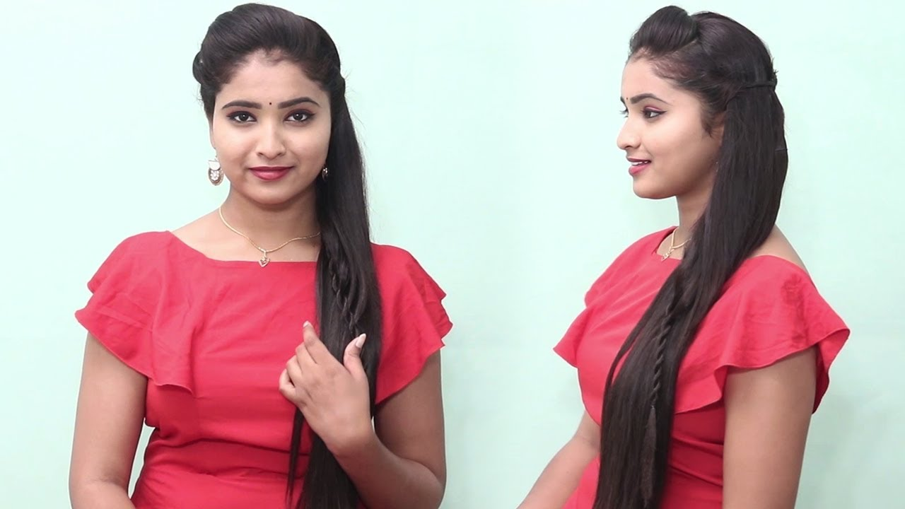 2 Awesome & Easy Hairstyles for Wedding or Function    Fashion    Style   