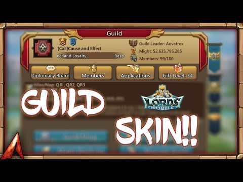 We Got Guild Fest Guild SKIN! Unexpected Rally! Lords Mobile