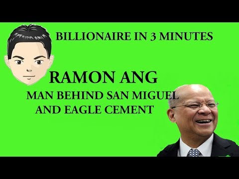 Billionaire Ramon Ang in 3 Minutes (San Miguel and Eagle Cement)