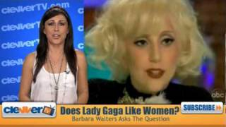 Lady Gaga On Barbara Walters Interview Admits She Is Bisexual?