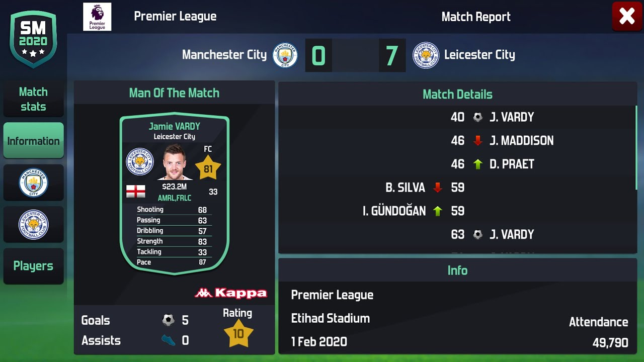 Best Tactics To Use For Soccer Manager 2020 Youtube