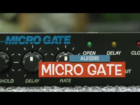 Alesis Micro Gate | Noise Gate Limiter | Vintage Music Equipment (For Sale) On Ebay