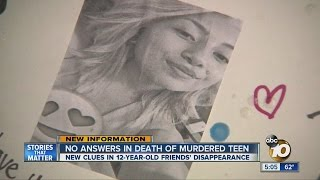 No answers in death of murdered teen