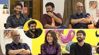 Rana Interviews Venky Mama Movie Team | Venkatesh | Naga Chaitanya | Suresh Babu