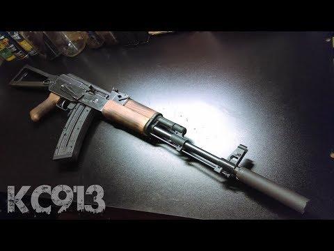 GSG AK-22  - Custom Triangle Folding Stock .22lr Kalashnikov Rebel Edition GSG AK47 AK-47