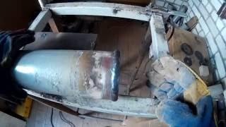 Сварка заглушки на неповоротной трубе(В этом видео я покажу как приварить заглушку на бесповоротную трубу., 2016-07-09T05:14:07.000Z)