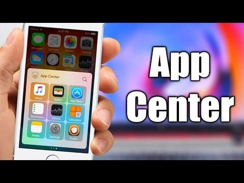 App Center - iOS 10 - 10.2 Jailbreak Tweak