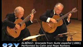 Los Romero: 50th Anniversary Concert at 92Y - ALBÉNIZ: Granada from Suite española (1886)