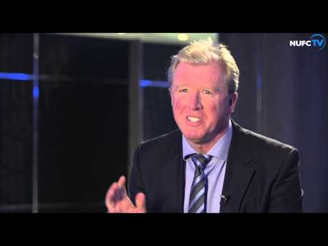 Steve McClaren's first interview as Newcastle United head coach