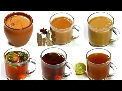 ६ तरीके के चाय जो मेहमानो का दिल जीत ले | 6 Indian Tea Recipes | KabitasKitchen