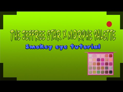 SMOKEY EYE USING 'THE MORPHE X JEFREE STAR PALETTE'! thumbnail