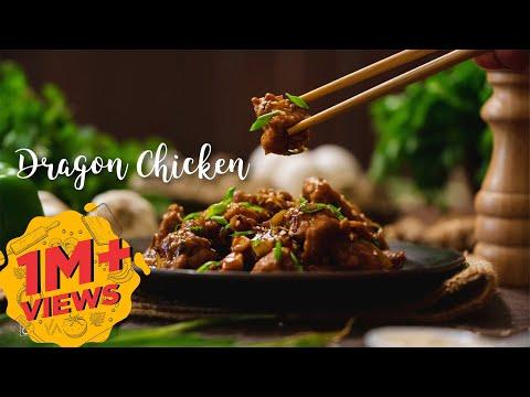 Dragon Chicken |  Chicken Starter |   Indo Chinese