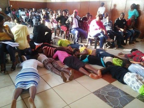 Pastor Commands Snake Spirit In To Members,Sends Them To Nigeria Photos