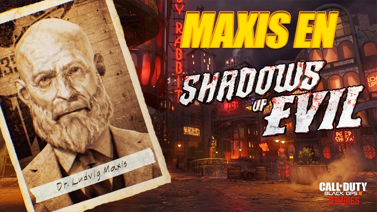 Maxis en Shadows of Evil | Radio Secreta | ¿Sabe la existencia de ésta dimensión?