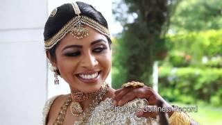Champi Siriwardana's Guinness Wedding Record [ Manaliyange Mahagedara ]