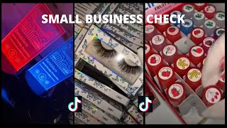 SMALL BUSINESS CHECK 💕(part 1) || PACKING ORDERS TIKTOK~ Satisfying, Asmr