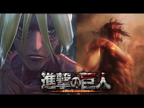 [video] Attack on Titan PS4 Game Trailer 4 - Titan Eren, Female Titan, More