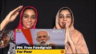 PM MODI JI - 80 Crore People To Get Free Food Till November Scheme | Pakistani reaction | Magisco NS