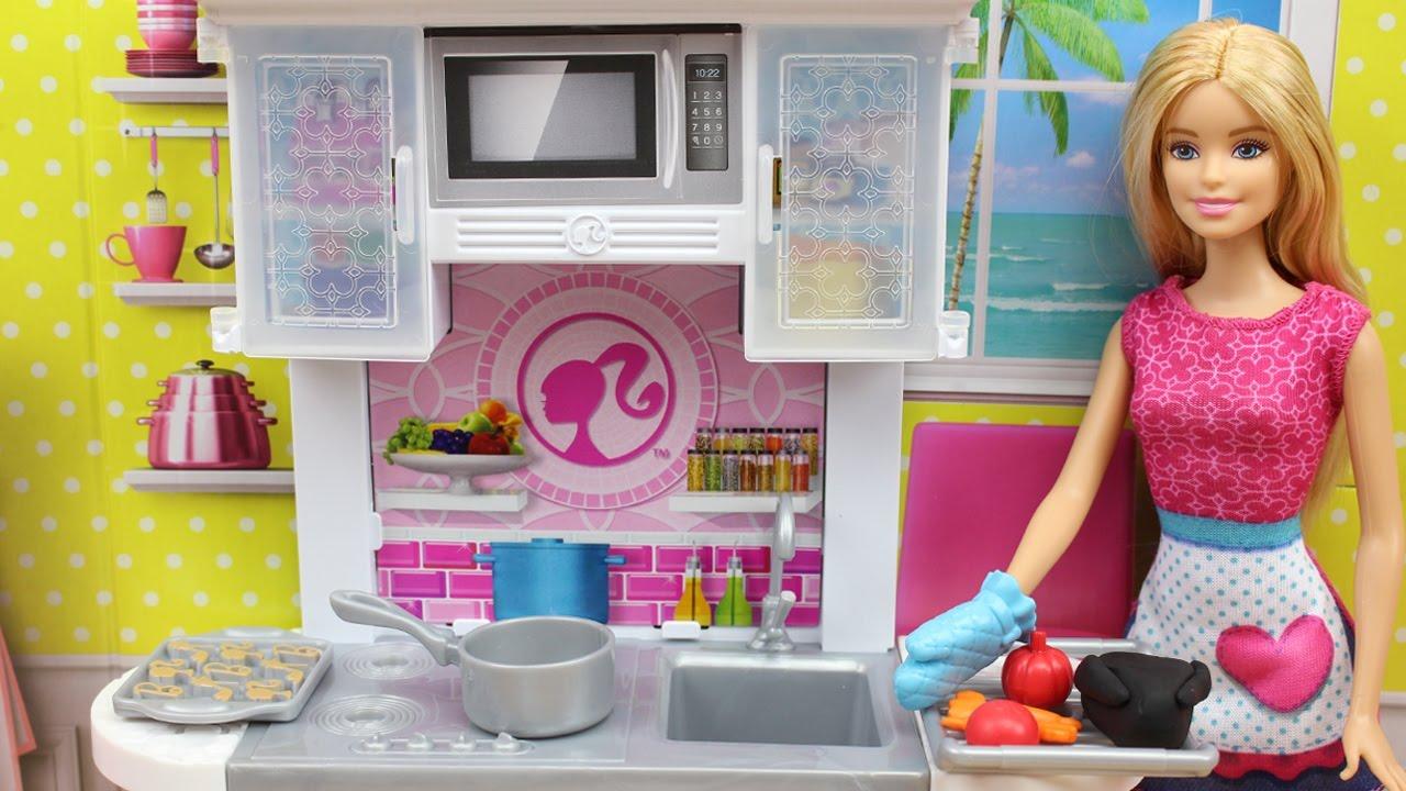 Juegos De Cocina De Barbie | Cocinitas De Juguetes De Barbie Barbie Cocina Para Ken Y Quema